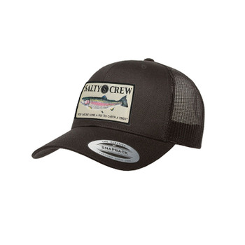 Salty Crew Rainbow Retro Hat - Black
