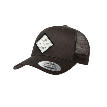 Salty Crew Tippet Retro Trucker Hat - Black