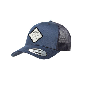 Salty Crew Tippet Retro Trucker Hat - Navy