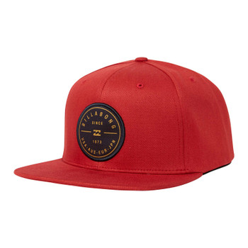 Billabong Rotor Snapback Hat - Red