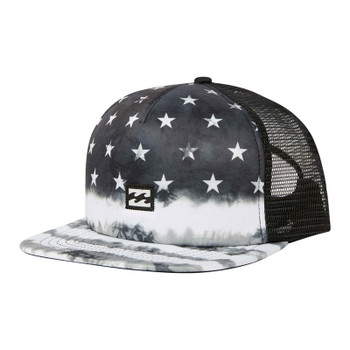 Billabong Riot Trucker Hat - Black / White