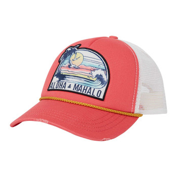 Billabong Radical Dude Trucker Hat - Vintage Coral