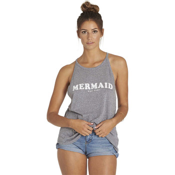 Billabong Mermaid For Life Tank Top - Dark Athletic Grey