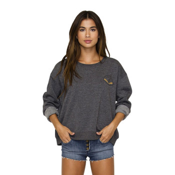 Element Nala Pullover Crew - Charcoal Heather