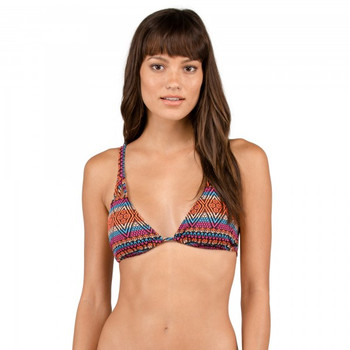 Volcom Seas The Day Triangle Top - Firecracker