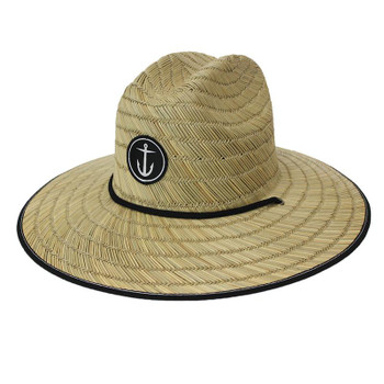 Captain Fin Original Anchor Lifeguard Hat - Brown