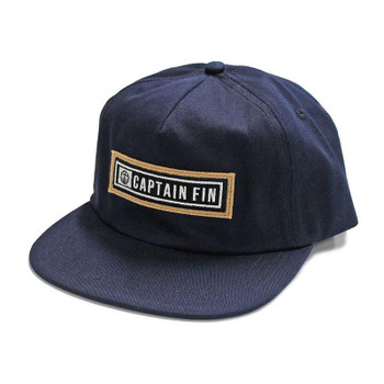 Captain Fin Compressed Hat - Navy