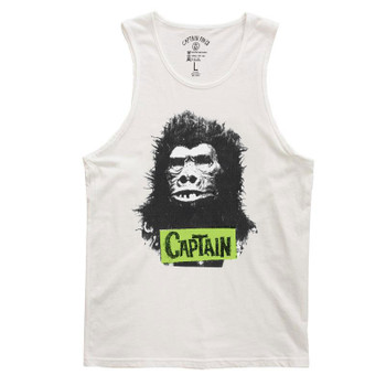 Captain Fin Guerrilla Tank - White