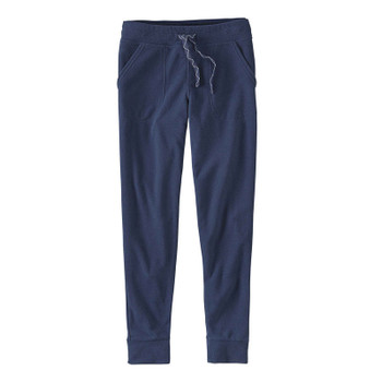 Patagonia Women's Snap-T Fleece Pants - Navy Blue