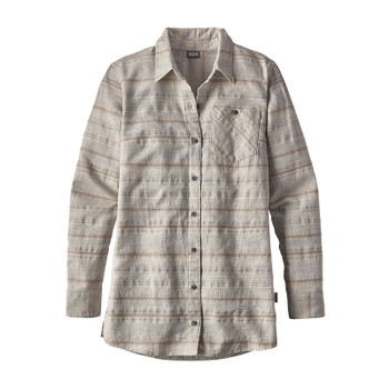 Patagonia Women's Aspen Forest Tunic - River Aura Dobby / Pelican