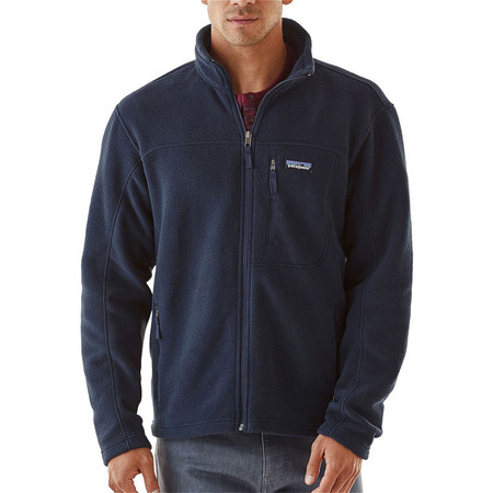 Patagonia Classic Synchilla Fleece Jacket - Navy Blue | Moment ...