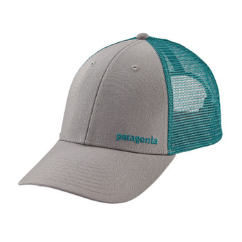 Patagonia Small Text Logo LoPro Trucker Hat - Drifter Grey