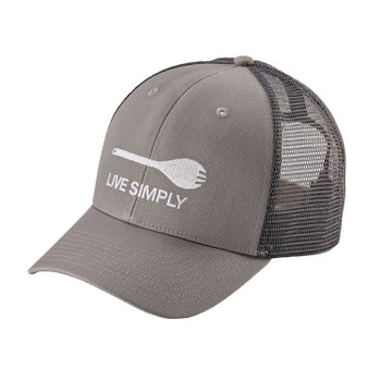 Patagonia Live Simply Spork Trucker Hat - Drifter Grey