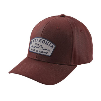 Patagonia Arched Type '73 Roger That Hat - Dark Ruby