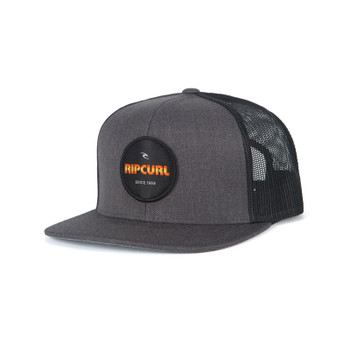 Rip Curl Daily Routine Trucker Hat - Grey Heather