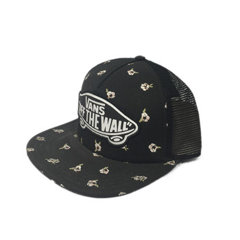 Vans Beach Girl Trucker Hat - Fall Floral