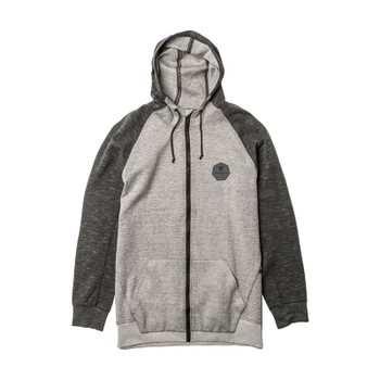 Vissla Wake Up Call Zip Fleece - Grey Heather