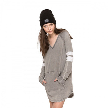 Element Chill Sweater Dress - Grey Heather