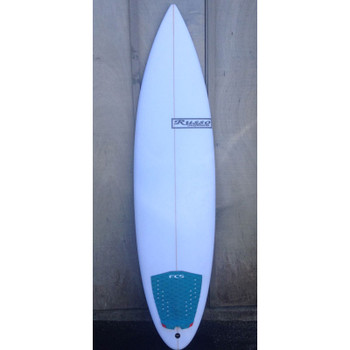 "Used Russo 6'4"" Shortboard Surfboard"