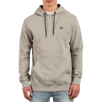 Volcom Single Stone Pullover Hoodie - Grey