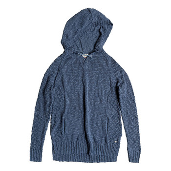 Roxy Smooth And Sassy Hooded Sweater - China Blue
