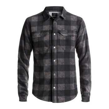 Quiksilver Surf Days Polar Fleece Shirt - Dark Grey Heather