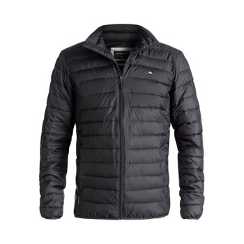 Quiksilver Scaly Full Water-Repellent Puffer Jacket - Tarmac