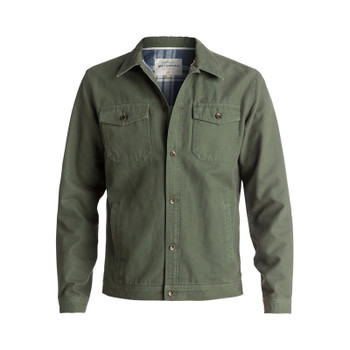 Quiksilver Waterman Tradie Button-Up Coat - Beetle