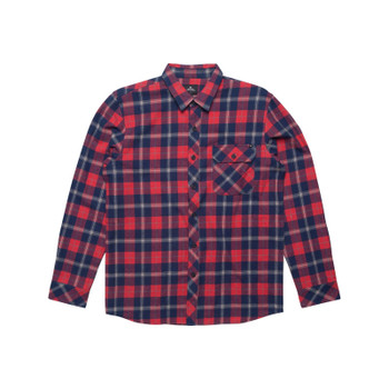 Rip Curl Teller L/S Flannel - Red
