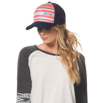 Rip Curl High Desert Trucker Hat - Raspberry