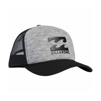 Billabong Podium Trucker Hat - Grey Heather