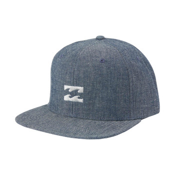 Billabong All Day Heather Snapback Hat - Navy