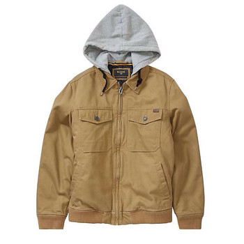 Billabong Barlow Twill Jacket - Gum