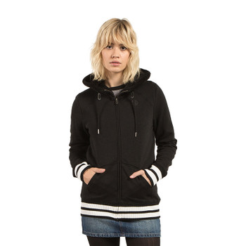 Volcom Good One Zip Hoodie - Black