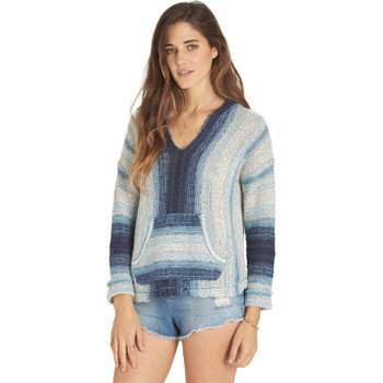 Billabong Seaside Wanderer Pullover Sweater - Deep Indigo