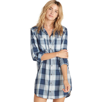 Billabong Winters Tail Dress - Indigo