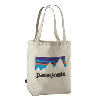 Patagonia Market Tote - Shop Sticker / Bleached Stone