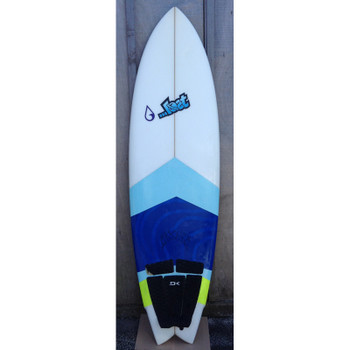 "Used Lost Round Nose Fish 5'10"" Surfboard"