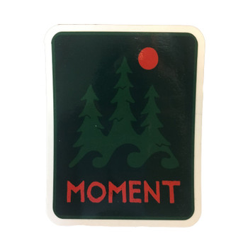 Moment Trees And Waves Sticker