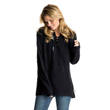 roxy-pearling-poncho-hoodie-dress-blues