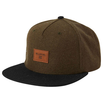 Billabong Oxford Snapback Hat - Dark Olive2