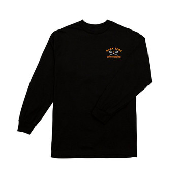 Dark Seas X Grundens Expedition L/S Tee - Black
