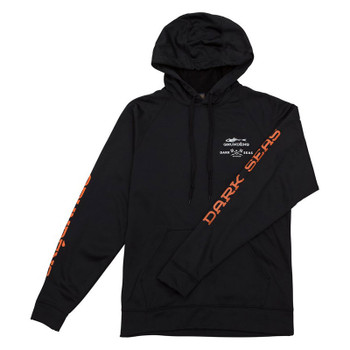 Dark Seas X Grundens Alliance Pullover Hood Sweatshirt - Black