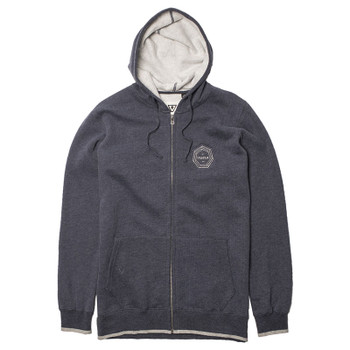 Vissla Waverly Zip Fleece - Dark Navy Heather