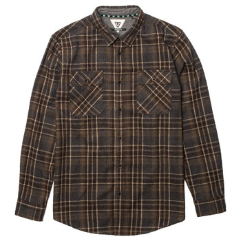 Vissla Woodhaven Wool Flannel - Java