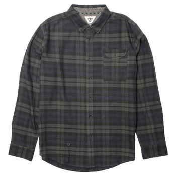 Vissla Central Coast Flannel - Evergreen
