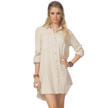 Rip Curl Lizzie Dress- Vanilla