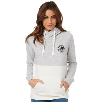 Rip Curl Fifty Fifty Hoodie - Light Grey Heather