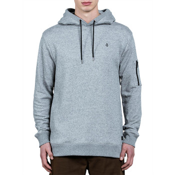 Volcom Somewhere Pullover Hoodie - Grey
