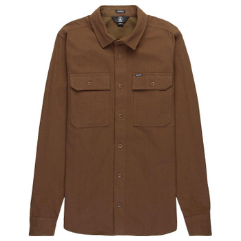 Volcom Ketil Long Sleeve Shirt - Mud